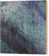 Grunge Texture Blue Ugly Rough Abstract Surface Wallpaper Stock Fused Wood Print