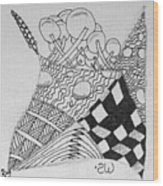 Gryphon Wood Print
