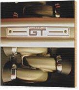 GT Wood Print