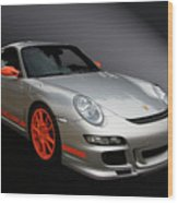Gt3 Rs Wood Print by Bill Dutting