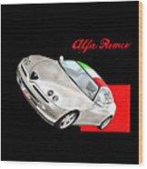 Gtv Alfa Wood Print