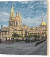 Guadalajara Cathedral Wood Print