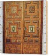 Guadalajara Door 1 Wood Print