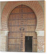 Guadalajara Door 3 Wood Print