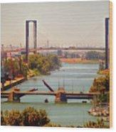 Guadalquivir River Wood Print