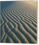 Guadalupe Dunes Wood Print