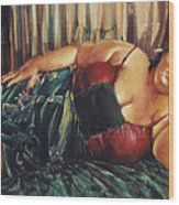 Guadalupe Wood Print