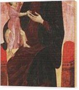 Gualino Madonna Wood Print