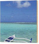 Guam, Agana Bay Wood Print