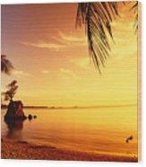 Guam, Agat Bay Wood Print