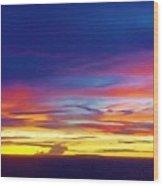 Guam Sunrise I 10/2015 Wood Print