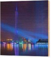 Guangzhou Tv Tower 1 Wood Print
