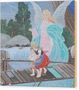 Guardian Angel Donated Wood Print