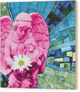 Guardian Angel Wood Print