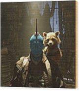 Guardians Of The Galaxy Vol. 2 Wood Print