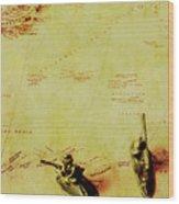 Guarding Histories Untold Wood Print