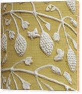 Guatemala Floral Detail Wood Print