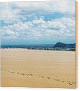 Guayas River View Wood Print