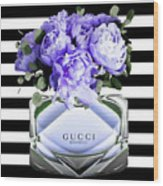 Gucci Perfume Violet Wood Print