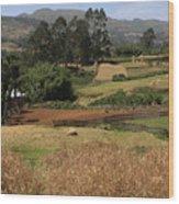 Guge Mountain Range Southern Ethiopia Wood Print