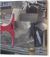 Guggenheim Bilbao Museum IIi Wood Print