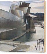 Guggenheim Bilbao Museum Wood Print