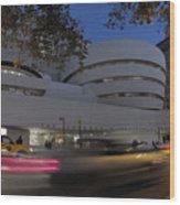 Guggenheim Museum New York  Wood Print