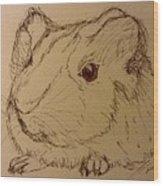 Guinea Pig Wood Print