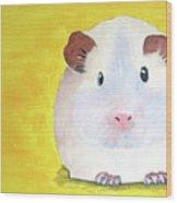Guinee Pig Wood Print
