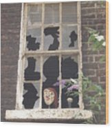 Guinness Window Watcher Wood Print