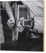 Guitar 2016 Wood Print