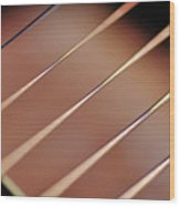 Guitar Abstract 2 Wood Print