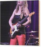 Guitarist Ana Popovic Wood Print