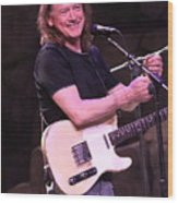 Guitarist Robben Ford Wood Print