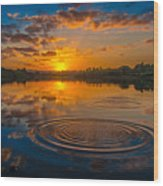 Guladoo Lake Wood Print