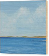 Gulf Impression 1 Wood Print