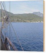 Gulf Of Gokova Wood Print