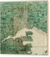 Gulf Of St Lawrence 1541 Wood Print