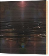 Gulf Prayer Wood Print