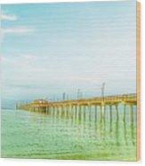 Gulf Shores Pier Wood Print