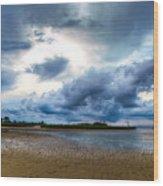 Gulf Storm Wood Print
