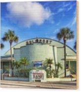 Gulfport Casino Wood Print by Tammy Wetzel