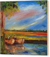 Gullah Lowcountry Sc Wood Print