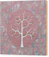 Gulvan Vriksh Wood Print