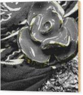 Gum Wrapper - Gold Wood Print