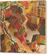 Gumball Chain Wood Print