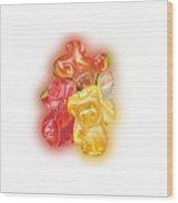 Gummy Bear Wood Print