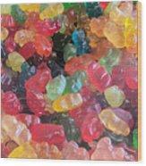 Gummy Bears Wood Print