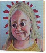 Gummy Eyes Swedish Fish Wood Print