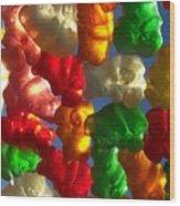 Gummybears 2 Wood Print